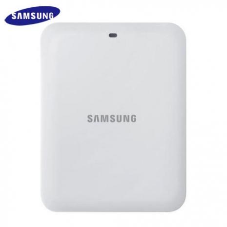 SAMSUNG Galaxy S4 i9500 原廠電池座充 充電座B600CEWCGCN (裸裝)-白色