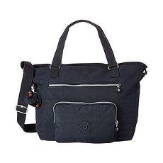Kipling U.S.A. 2015時尚Noelle多功能肩帶雙提寶藍色手提包★預購